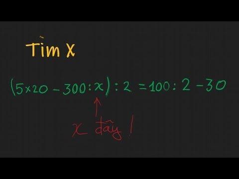 Toán 4. Dạng bài toán tìm x – cơ bản và nâng cao (ôn tập học kỳ 1)
