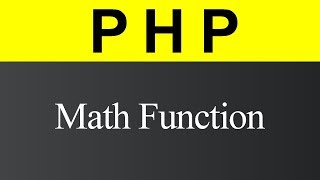 Math Function in PHP (Hindi)