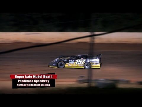 Ultimate Series Heat 1 & 2 at Ponderosa Speedway Aug, 22 ,2014