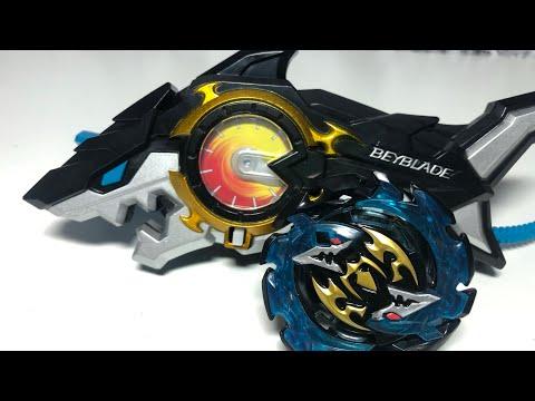 ЛУЧШИЙ Волчок от Hasbro с пускалкой АКУЛА / Бейблэйд Бёрст / Beyblade Burst