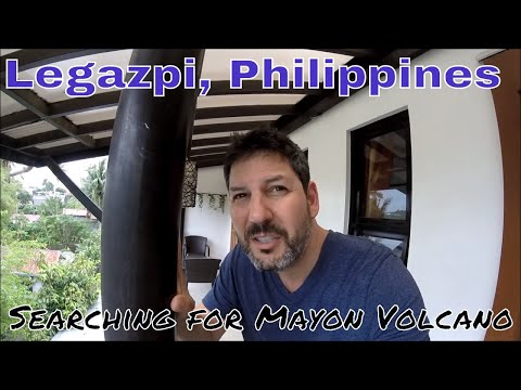 Philippines, Legazpi: Searching for Mayon Volcano!