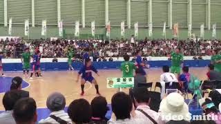 大崎電気 小澤選手 超ジャンプサイドシュート‼️