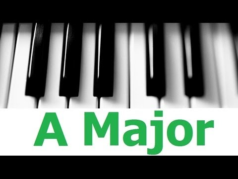 A Major Scale & Chords - Android Piano Tutorial #4