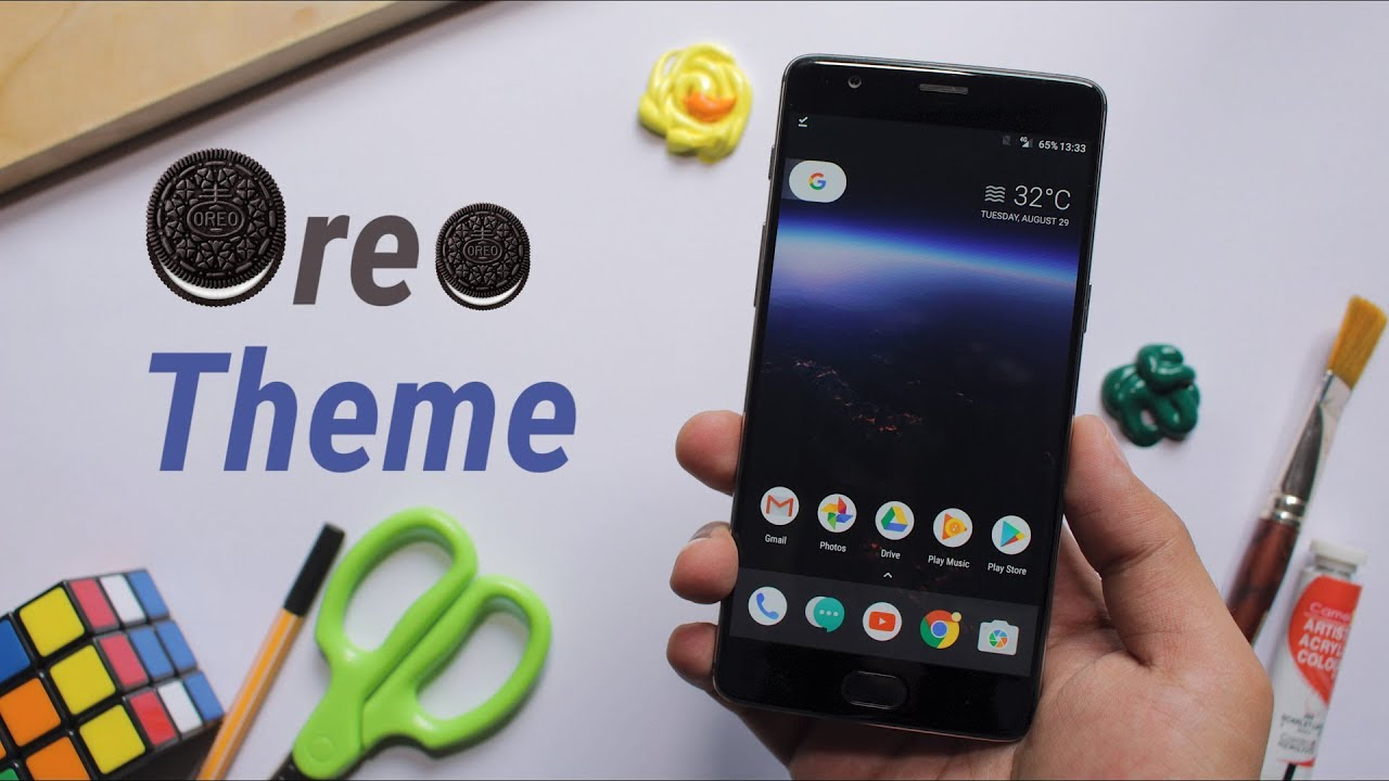 How to Download Android 8 0 Oreo Theme On Any Phone