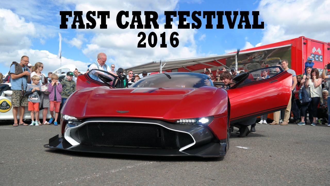 the fast car festival donington park july 2016 highlights aston martin vulcan unveiling