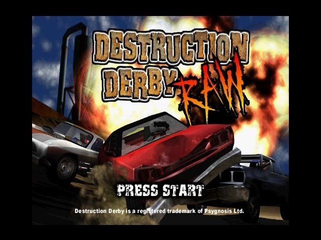 PSX Longplay [262] Destruction Derby RAW (Part 1 of 2)