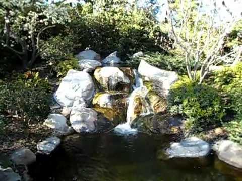 Japanese Garden in Long Beach, California