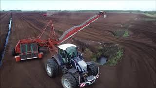 Harvesting Peat in Ireland