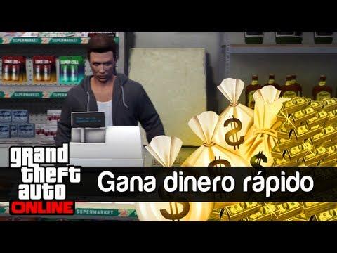 GTA V Online: Gana Dinero fácil y rápido - YouTube