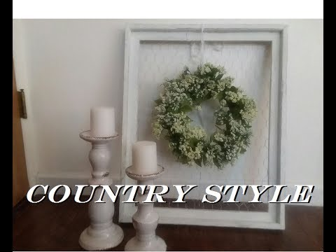 DIY Farmhouse Wall Decor - YouTube