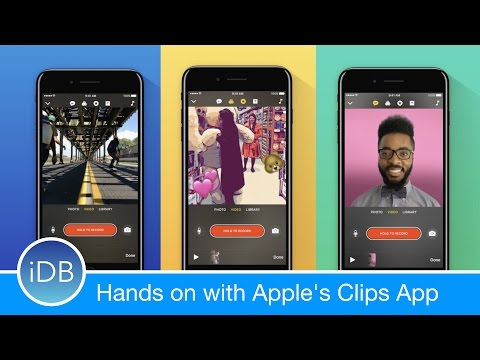 Hands on with Clips - Apple's New Social Video Editing App