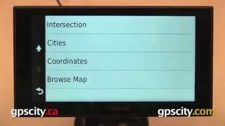 01. Trip Planner/Creating a Route: Garmin nuvi 2689/2789LMT & 2014 Advanced