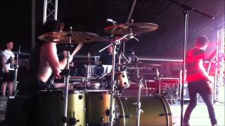 Yam Artzy Drum cam - The Mercy House - Conflict live @ Download Fest 2014