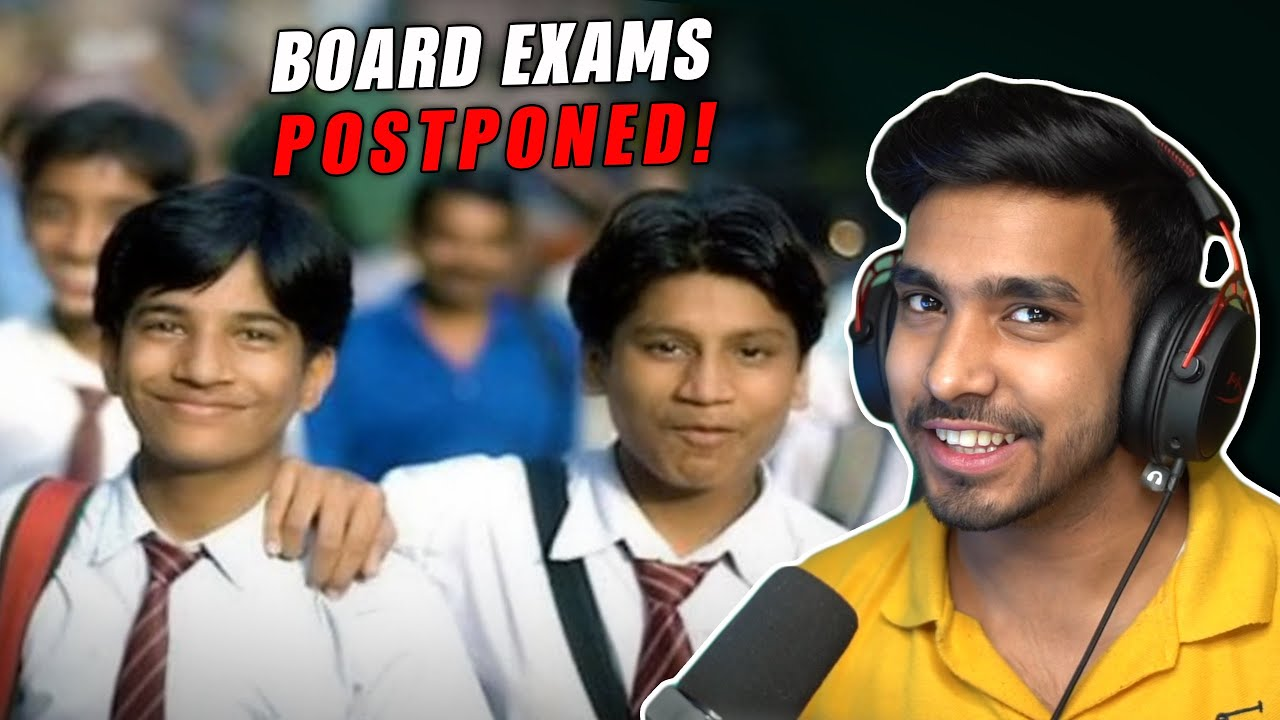 STUDENTS AFTER POSTPONED BOARD EXAMS