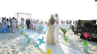 The Most Epic Beach Wedding Ever