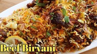 Beef Biryani, Eid Special Recipe