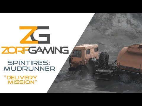 "Spintires: MudRunner (PC) ""Delivery Mission"" 