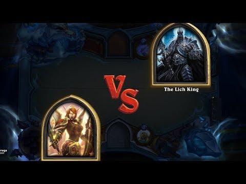 Repeat Paladin vs The Lich King EZ WIN (darnit tirion