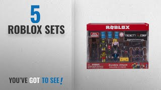 Top 10 Roblox Sets [2018]: Roblox Zombie Attack Playset