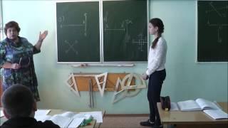 Фрагмент урока математики (Баркова Т.В.)
