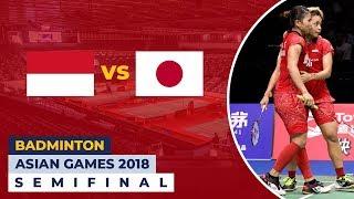 Live Streaming Semifinal Badminton Asian Games 2018: Indonesia vs Jepang (Women's Team)