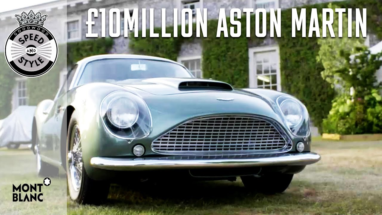 All Types aston db4 zagato : The £10million Aston Martin DB4 Zagato is elegant and rare - YouTube
