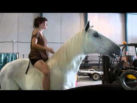 Horse falls on woman from YouTube · Duration:  9 seconds