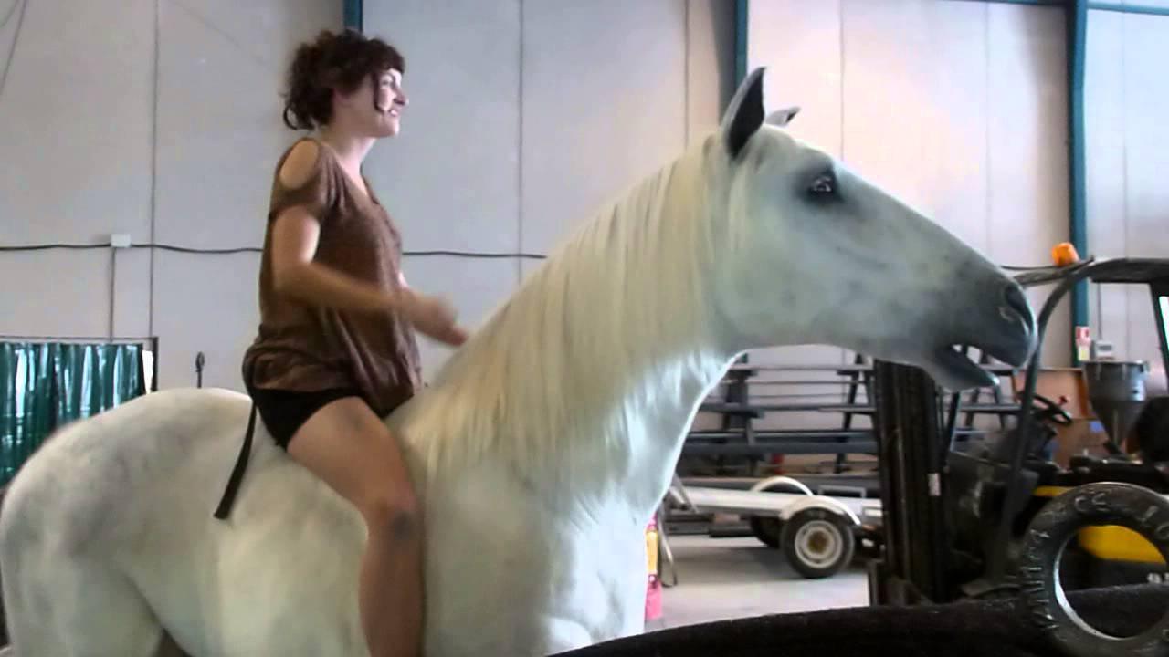 Hot girl riding mechanical bull 2015 - 1 5