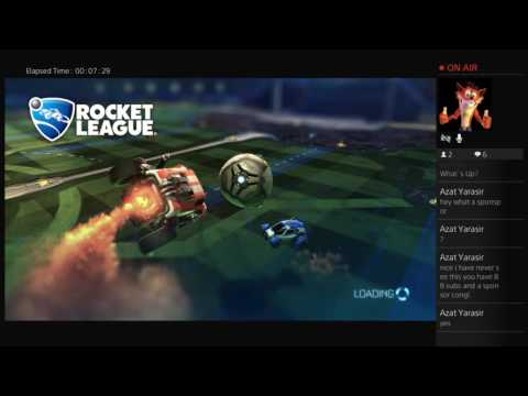 I HAVE A SPONSOR!!!! & playing Rocket league