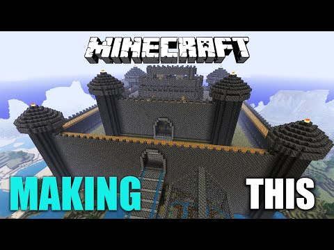 How to make forts  -  AUTOMATIC COBBLESTONE GENERATOR IN MINECRAFT
