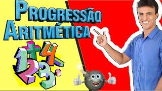 Progressão Aritmética (P.A)/ Sequências /Matemática básica para Concursos / termo geral