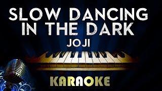 Joji - SLOW DANCING IN THE DARK   Piano Karaoke Version Instrumental Lyrics Cover Sing Along