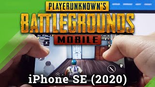 PubG Mobile na iPhone SE (2020) - test vysoké grafiky