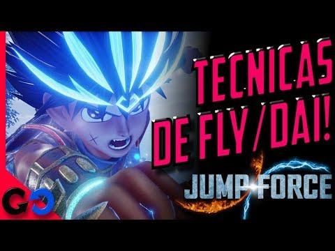 Jump Force Tecnicas y Habilidades de Dai/Fly de Dragon Quest!