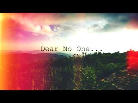 Dear No One...