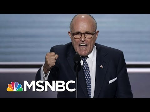 Rudy Giuliani Says He's Repeatedly Told Donald Trump Not To Fire Sessions | The 11th Hour | MSNBC