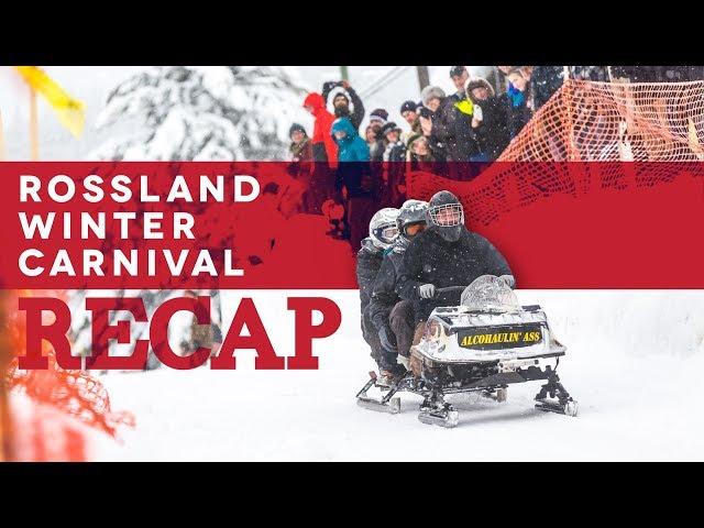 Rossland Winter Carnival 2018 Recap
