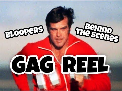 GAG REEL - THE SIX MILLION DOLLAR MAN - LEE MAJORS
