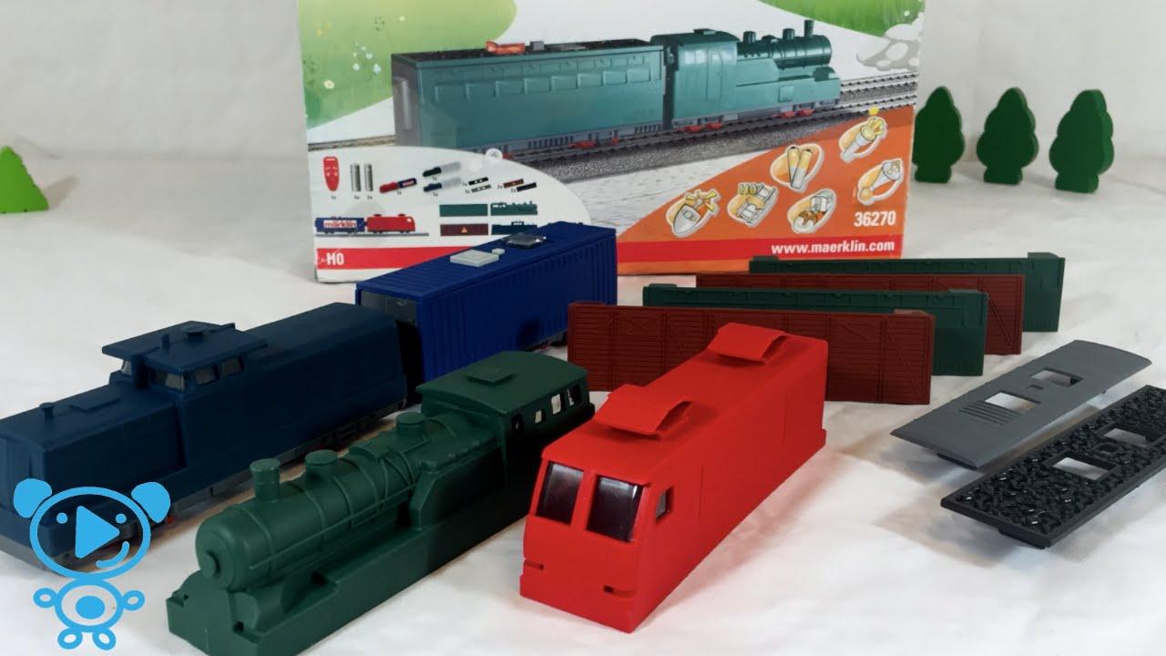trains for children unboxing train set m rklin 36270 youtube. Black Bedroom Furniture Sets. Home Design Ideas