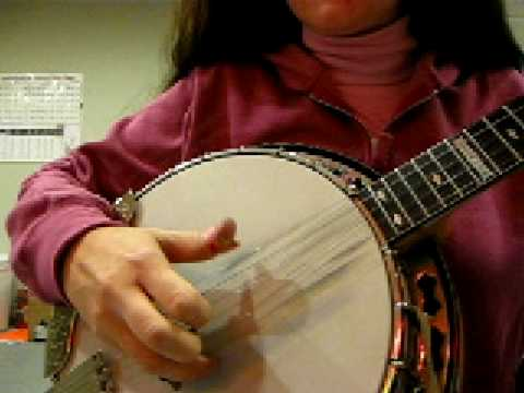 How to Play Jingle Bells on Banjo - Super Easy Version - YouTube