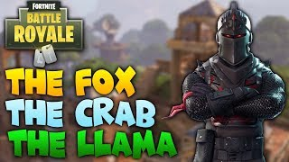 Fortnite: Battle Royale | The Fox, The Crab and The Llama | Secret Locations Challenge