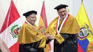 Tema: Distinción de Doctor Honoris Causa al Dr. Boaventura de Sousa Santos