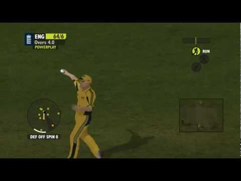 Ashes cricket one day international ft Poacher