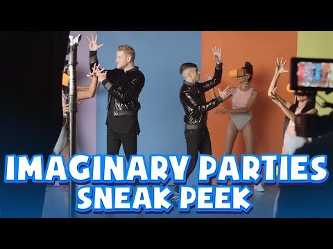IMAGINARY PARTIES SNEAK PEEK!