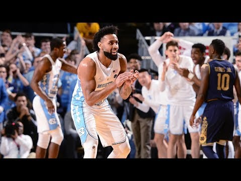UNC Men's Basketball: Tar Heels Down Notre Dame, 83-66