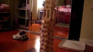tallest jenga tower