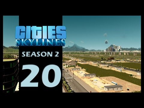 Cities: Skylines Season 2 | Episode 20 | The suburbs!