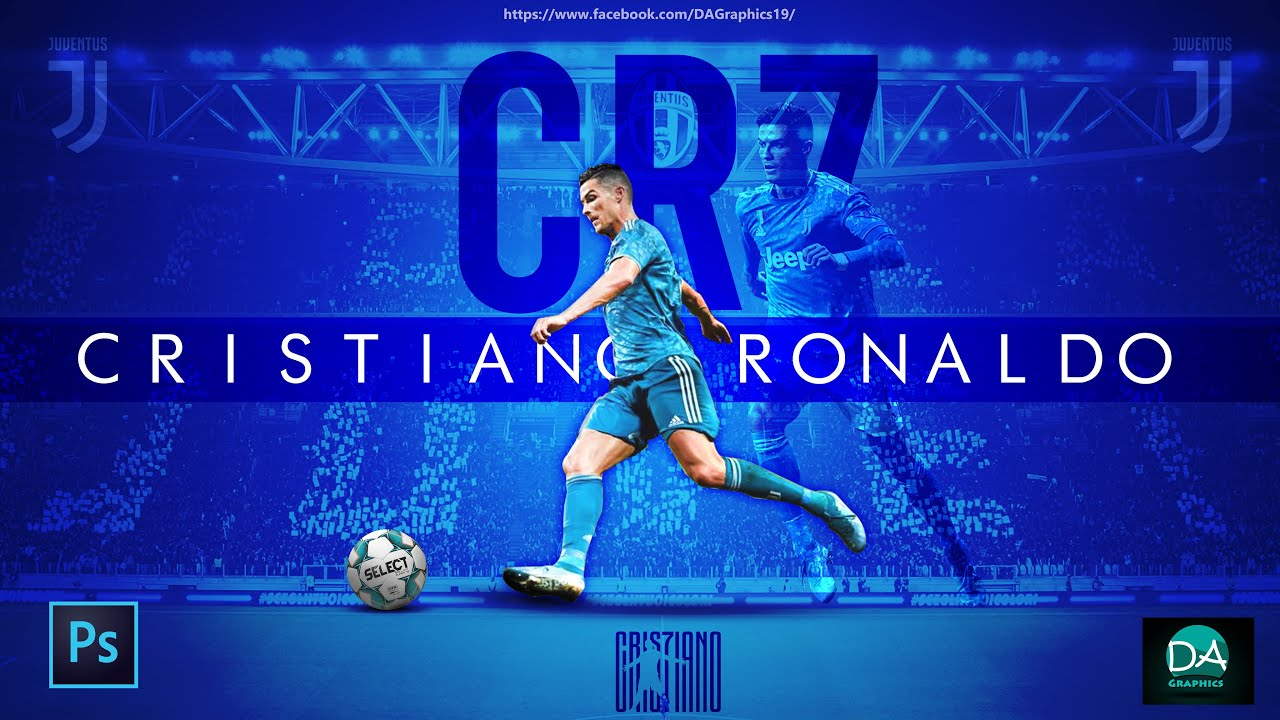 cristiano ronaldo juventus football wallpaper background poster design photoshop tutorial youtube cristiano ronaldo juventus football wallpaper background poster design photoshop tutorial