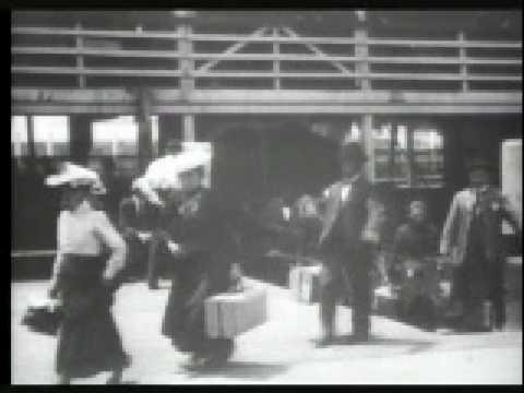 Immigrants Landing on Ellis Island 1903