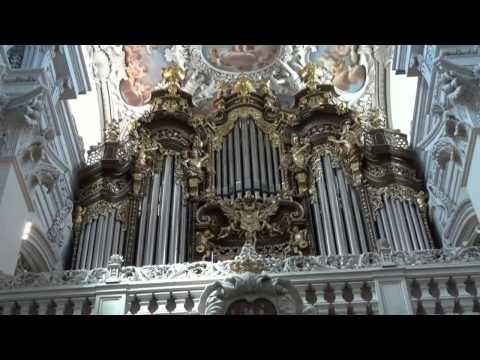 Passau Germany Organ Concert 30.07.16